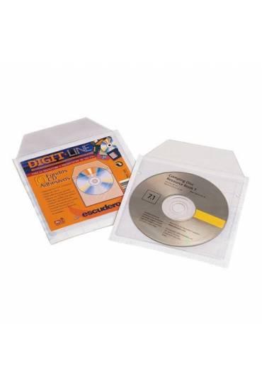 Fundas adhesivas para envío de CD's
