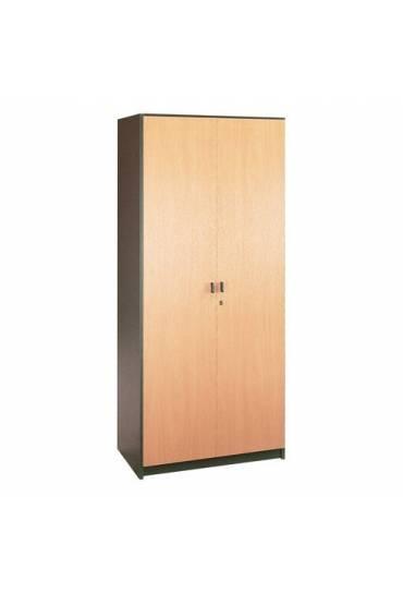 Armario madera 180x90Antracita-haya