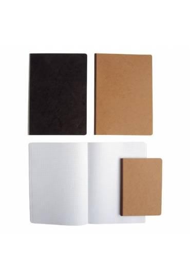 Cuaderno cosido agebag 4º liso beig