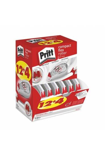 Cinta correctora  Pritt 16 unidades compact