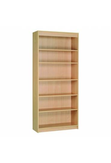 Estanteria Alta 200x90 Book Case Plus haya