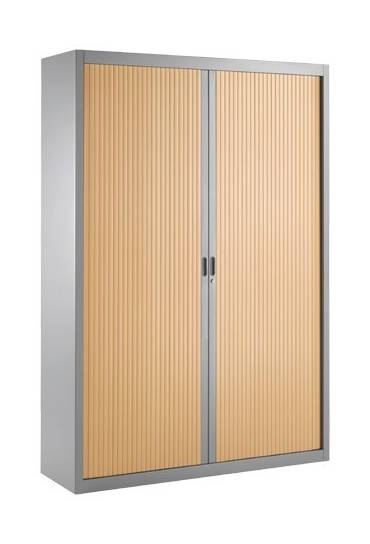 Armario persiana desmontable 200x140 aluminio/haya