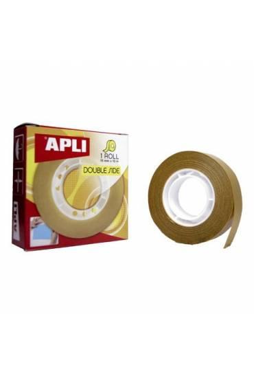 Cinta adhesiva doble cara Apli