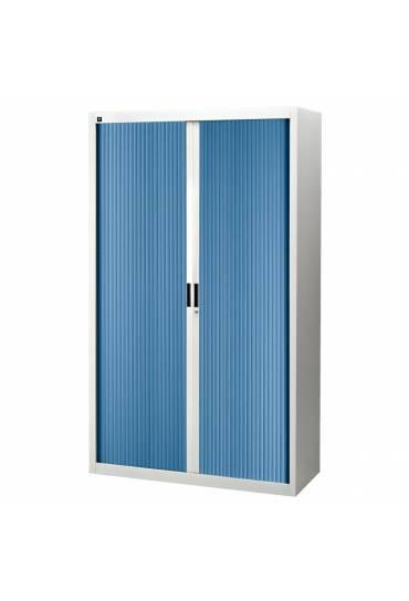 Armario persiana desmontable 200x120 gris/azul