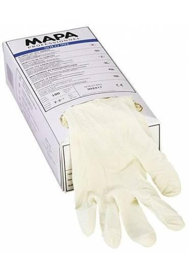 Caja 100 guantes latex empolvados T9