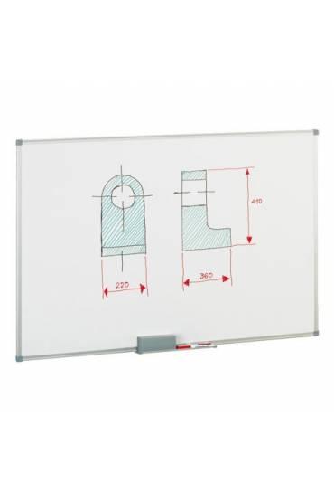 Pizarra lacada marco aluminio 60x90 Faibo