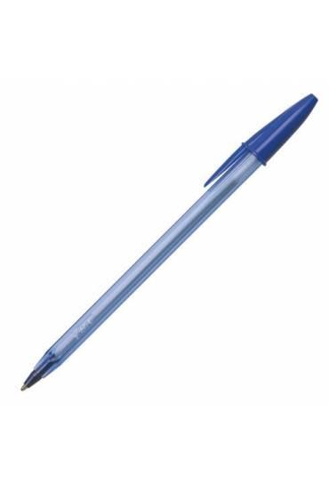 Boligrafo bic cristal soft azul