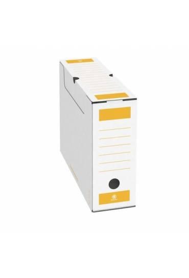 Archivo definitivo A4 lomo 8cm amarillo jmb