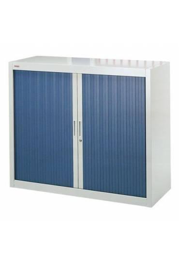 Armario persiana desmontable 100x120 gris/azul