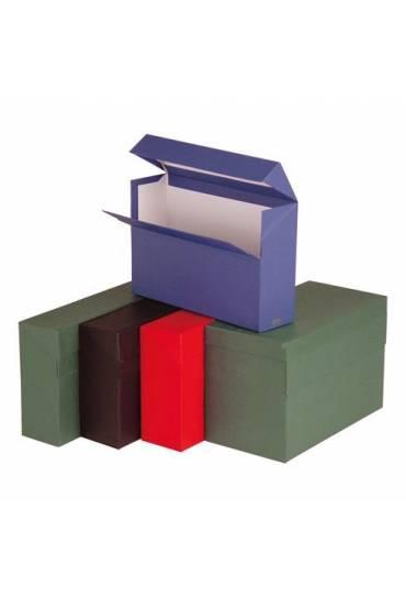 Caja transferencia Milskin folio doble fondo burde