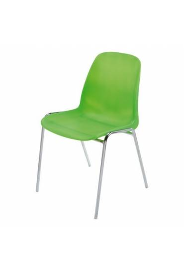 Silla coque modelo translucido verde