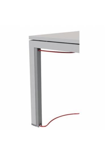 Pasa cable vertical arko aluminio