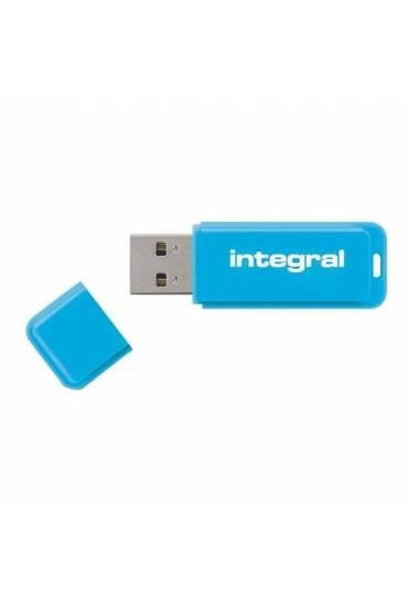 Memoria USB Integral Neon 8 Gb azul