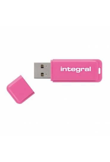 Memoria USB Integral Neon 8 Gb rosa