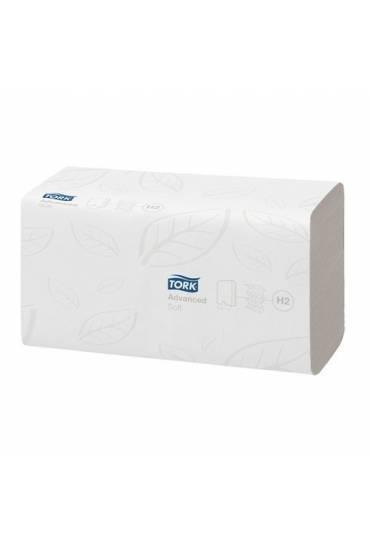 Toallas secamanos  w tork advanced suave caja 2856