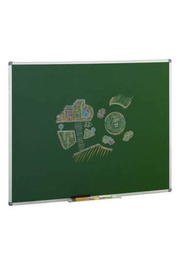 Pizarra Verde 122 x 150 cm marco aluminio