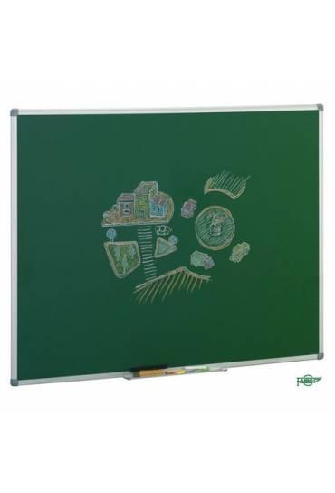Pizarra Verde 122 x 200 cm marco aluminio