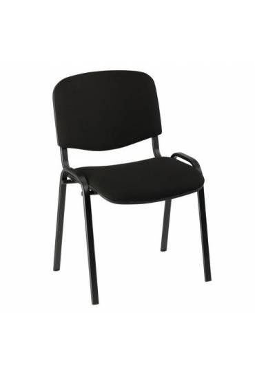 Silla oficina conferencia eco 4 patas negro