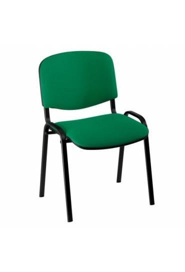 Silla oficina conferencia eco 4 patas verde