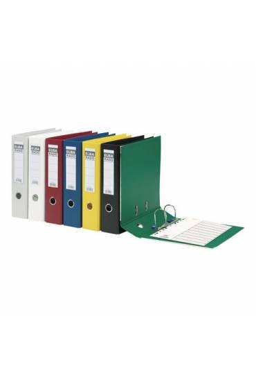 Archivador A4 de cartón forrado en PVC Azul Lomo 8