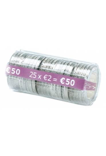 Estuche monedas 2 euros 25 unds