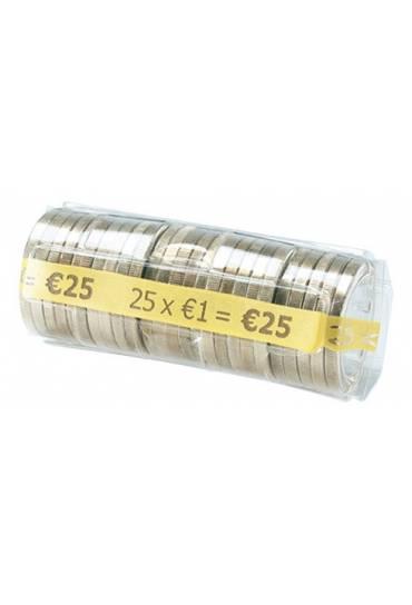 Estuche monedas 1 euros 25 unds