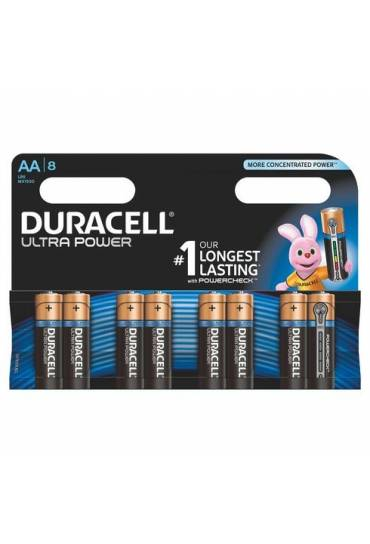 Blister 8 pilas aa ultra power Duracell