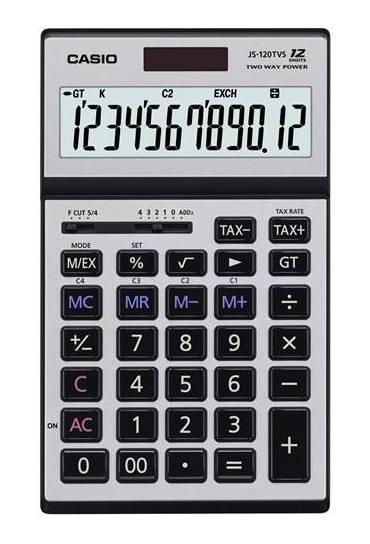 Calculadora casio JS-120TVS-SR