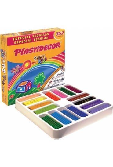 Caja 352 ceras plastidecor Bic Kids