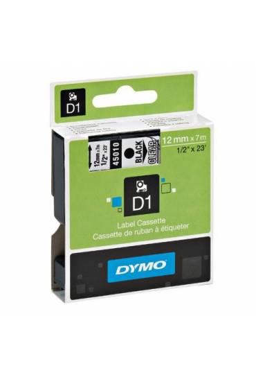 Cinta Dymo D1 12Mm X 7M Azul/ Transparente 45011