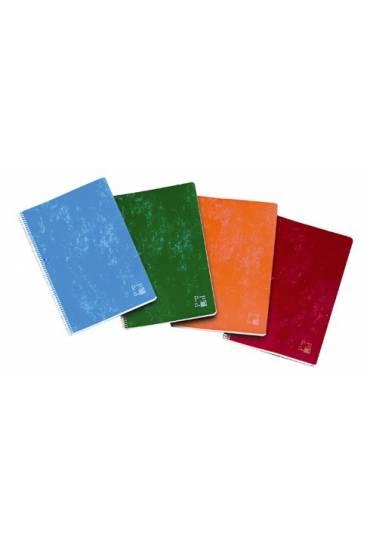 Cuaderno folio 80h cuadriculado School Pacsa