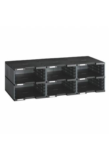 Modulo organizador 6 casillas talla jumbo gris