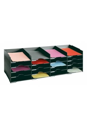 Clasificador 20 separadores ancho 103 cm negro
