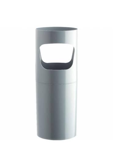 Paragüero plastico de gran resistencia gris