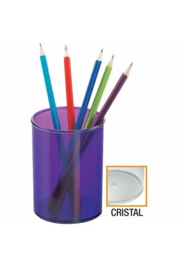 Portalápices Plástico Cristal Transparente