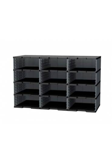 Modulo organizador 12 casillas talla jumbo gris