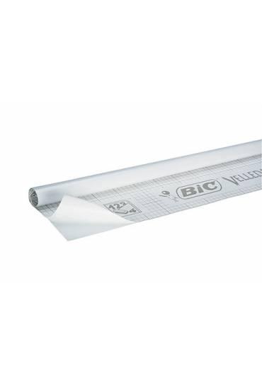 Pizarra blanca adhesiva en rollo velleda 100x200