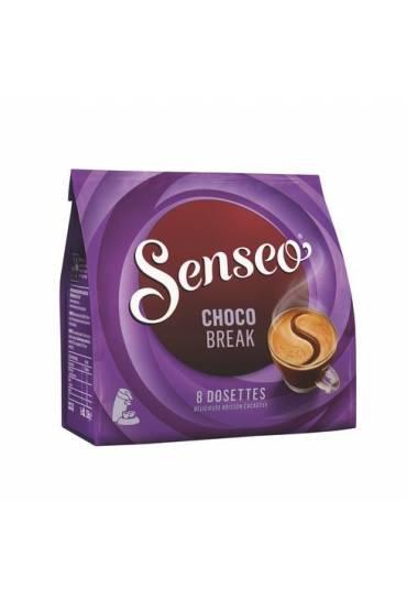 "Café ""gourmet"" senseo chocobreak - pack de 8"