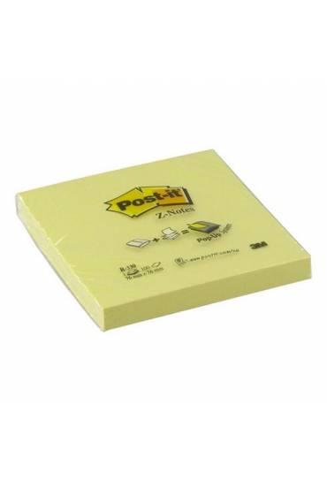 Bloc Notas Z  76 x 76 amarillo Pos-it 100 hojas