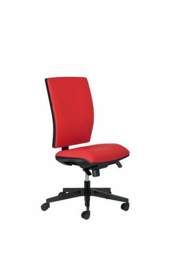 Silla oficina Activ  tejido rojo
