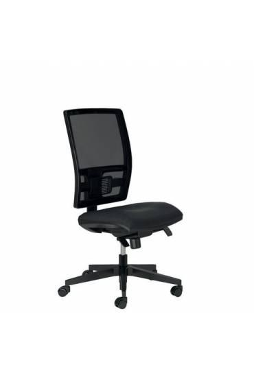 Silla oficina Activ respaldo malla negra