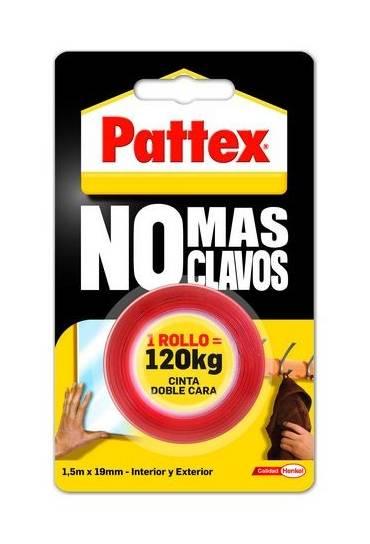 Cinta adhesiva doble cara 1.5 m pattex
