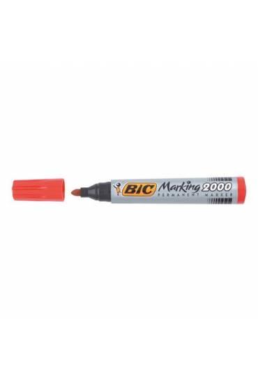 Marcador Bic 2000 2.5mm rojo