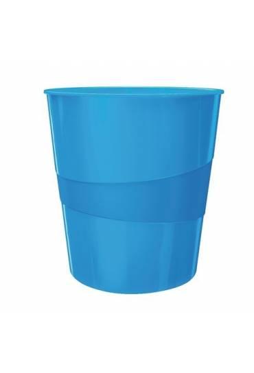 Papelera Leitz wow azul