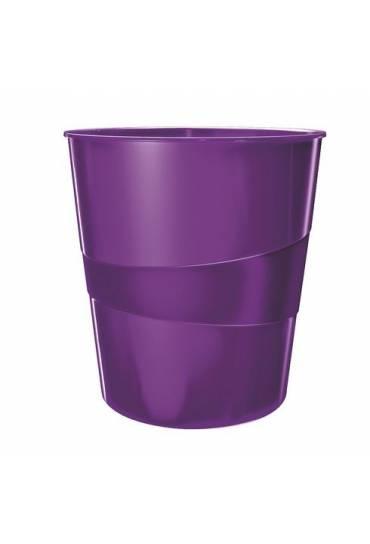 Papelera Leitz wow violeta