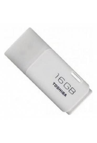 Memoria Usb 16 gb 2.0 Toshiba hayabusa blanco