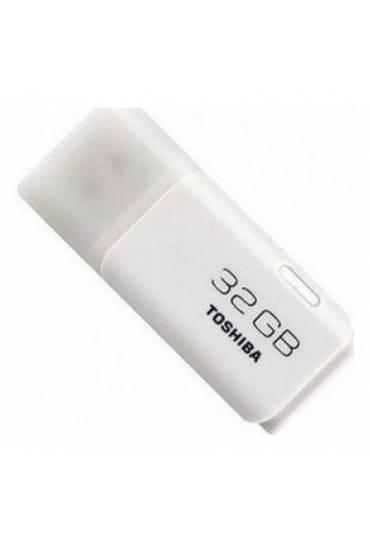 Memoria Usb 32 gb 2.0 Toshiba hayabusa blanco