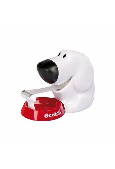 Dispensador cinta scotch perrito
