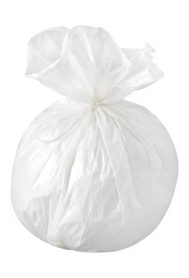 Bolsas basura blancas NF 6 litros 100 unidades