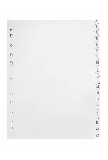 Separador alfabetico cartulina blanca A4